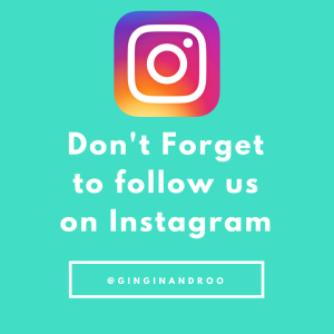 follow @ginginandroo on Instagram